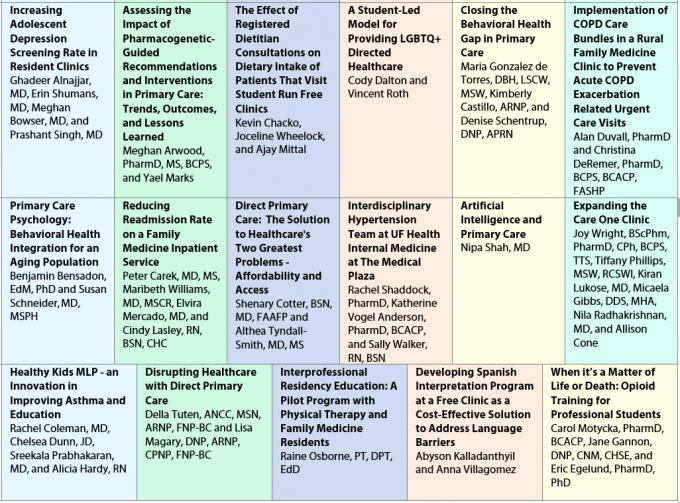 2020 agenda at a glance